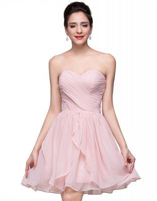 Luxury Sweetheart Short Homecoming Dress UK Chiffon_5