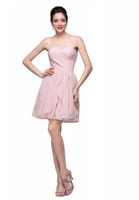 Luxury Sweetheart Short Homecoming Dress UK Chiffon_2