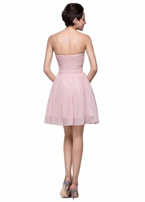 Luxury Sweetheart Short Homecoming Dress UK Chiffon_4