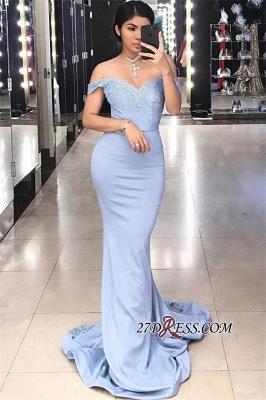 Off-the-shoulder Lace Evening Dress UK | Mermaid Prom Dress UK BA9432_2