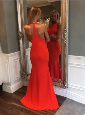 Sexy Sleeveless Mermaid Prom Dress UKes UK Long On Sale_1