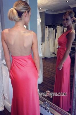 Elegant V-neck Formal Dress UK   Prom Dress UK With Slit_1