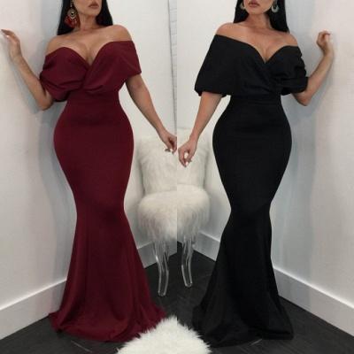 Sexy Sweetheart Long Formal Dress UK | 2019 Mermaid Prom Party Dress UK_4