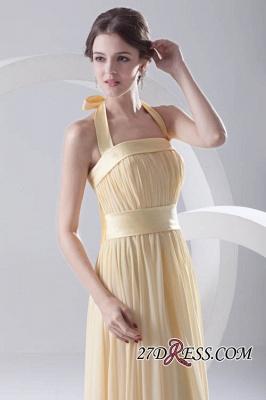 Floor-Length A-Line Yellow Zipper Ruffles Gorgeous Bridesmaid Dress UKes UK_2