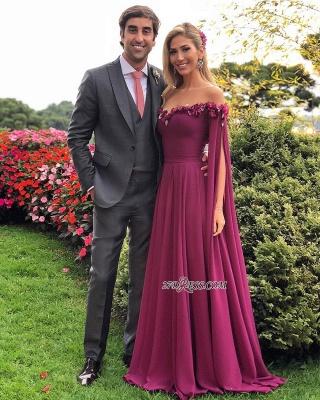 Sweetheart Formal Chiffon Prom Dress UK | Long Evening Gowns With Ruffles_2