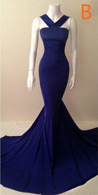 Sleeveless Mermiad Halter Sleeveless Evening Dress UKes UK Special Womens Party Dress UKes UK_2