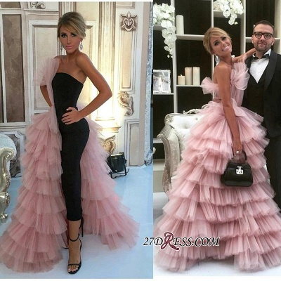 Long Mermaid Designer Tulle Gorgeous Layer Evening Dress UK_2