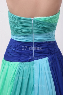 Colourful Evening Gowns Sweetheart Sleeveless A Line Sequins Crystal Floor Length Prom Gowns_4