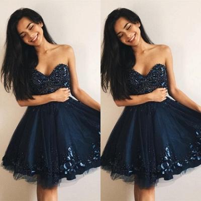 Sexy Sweetheart 2019 Homecoming Dress UK | Beadings Mini Short Dress UKes UK_3
