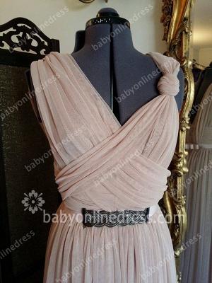Hot Sale Designer Long Chiffon Prom Dress UK On Sale_4