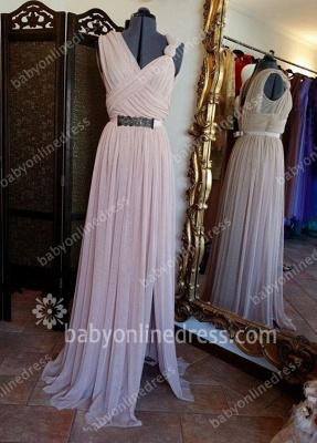 Hot Sale Designer Long Chiffon Prom Dress UK On Sale_1