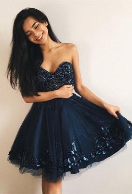 Sexy Sweetheart 2019 Homecoming Dress UK | Beadings Mini Short Dress UKes UK_1