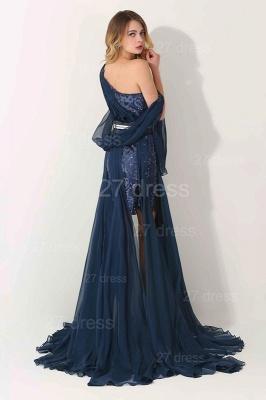 Luxury One Shoulder Lace Appliques Evening Dress UK Long Chiffon_3
