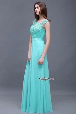 Gorgeous Lace-Appliques Chiffon A-Line Scoop prom Dress UKes UK_4