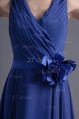 Modern Straps Chiffon Short Cocktail Dress UK Flower Zipper_4