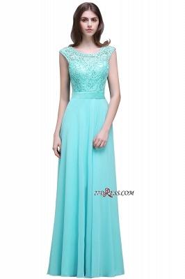 Gorgeous Lace-Appliques Chiffon A-Line Scoop prom Dress UKes UK_6