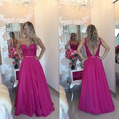 Luxury Sleeveless Evening Dress UK Beadings Sweetheart_3