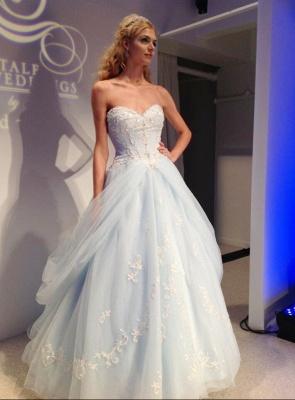 Timeless Sweetheart Appliques A-Line Prom Dress UK Floor-length Sweet 16 Dress UK_2