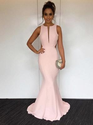 Newest V-neck Sleeveless Mermaid Prom Dress UK | Sexy Prom Dress UK_1