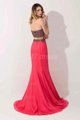 Stunning Sweetheart Mermaid Prom Dress UK With Beadings_3