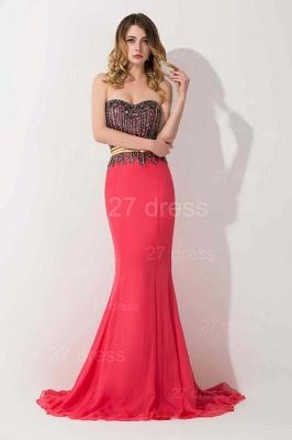 Stunning Sweetheart Mermaid Prom Dress UK With Beadings_1