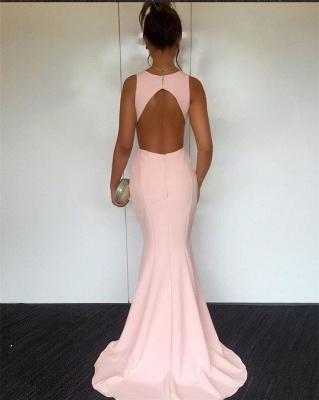 Newest V-neck Sleeveless Mermaid Prom Dress UK | Sexy Prom Dress UK_3