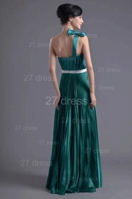 Modern One Shoulder Ruffles Evening Dress UK Floor-length Zipper_4