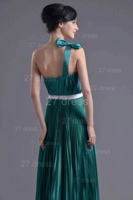 Modern One Shoulder Ruffles Evening Dress UK Floor-length Zipper_3
