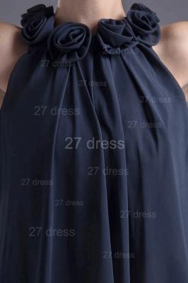 Elegant Flowers Short Cocktail Dress UK Zipper High Quality_3