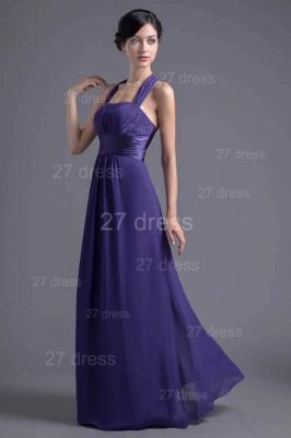 Sexy A-line Chiffon Halter Evening Dress UK Zipper Floor-length_2