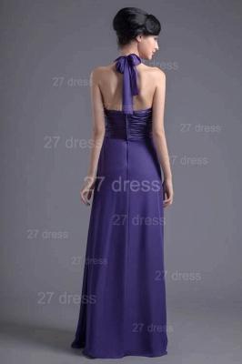 Sexy A-line Chiffon Halter Evening Dress UK Zipper Floor-length_6