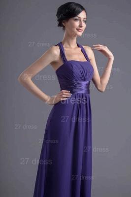 Sexy A-line Chiffon Halter Evening Dress UK Zipper Floor-length_3