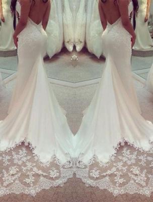 Stunning Sweetheart Lace Wedding Dress Sexy Mermaid_1