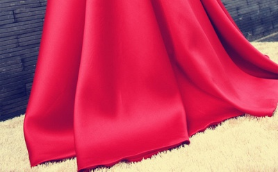 Sexy Red Off-the-shoulder Prom Dress UK Bowknot Lace-up_5