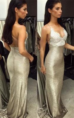 Gorgeous V-Neck Evening Dress UK   Mermaid Lace Prom Dress UK_1