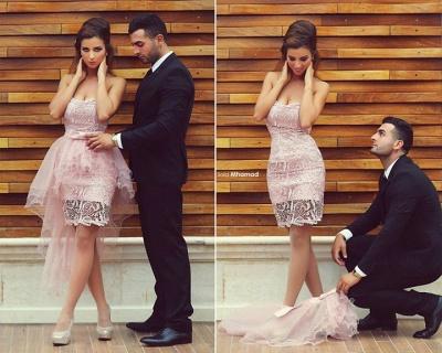Elegant Sweetheart Sleeveless Detachable Cockatail Dress UK Lace Tulle Sexy Homecoming Dress UKes UK_6