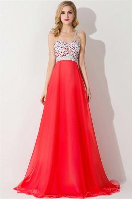 Elegant One Shoulder Crystal Prom Dress UK Floor Length_1