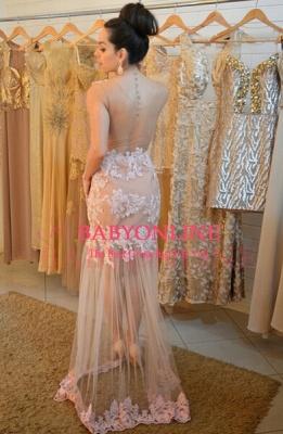 Sheer Womens Lace Evening Dress UK Sleeveless Mermaid Luxury_2