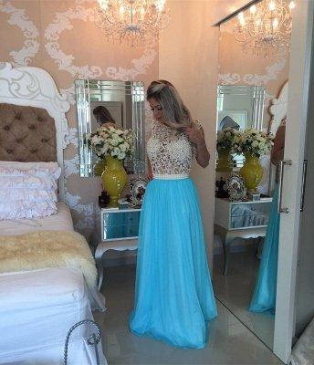 Luxury Red Pearls Lace Prom Dress UKes UK Long Chiffon BT0_5