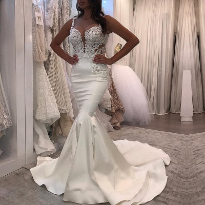Lace Wedding Dress | Sexy Mermaid Long Bridal Gowns_3