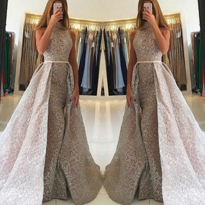 Luxury High-Neck Evening Dress UK   Sequins Party Dress UK On Sale_3