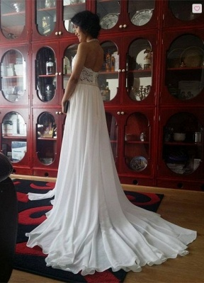 Newest High Neck Gorgeous Prom Dress UK Long beadings Chiffon Evening gown With Lace Appliques CPS231_5