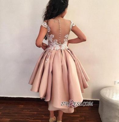 Lace ruffles short prom Dress UK, homecoming Dress UK online BA8007_2