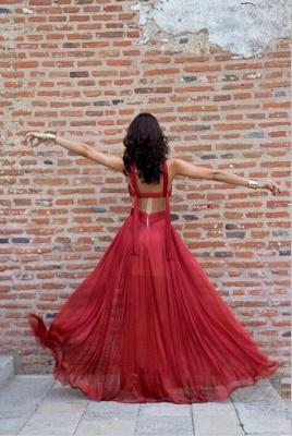 Classy Halter Long Prom Dress UKes UK Floor length_5