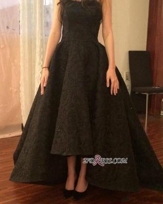 Black lace prom Dress UK, evening party Dress UK on sale_3