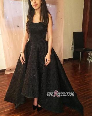 Black lace prom Dress UK, evening party Dress UK on sale_1