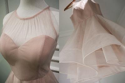 Homecoming Dress UKes UK Sleeveless Mini Elegant A-Line Chiffon Halter Cocktail Dress UKes UK_3