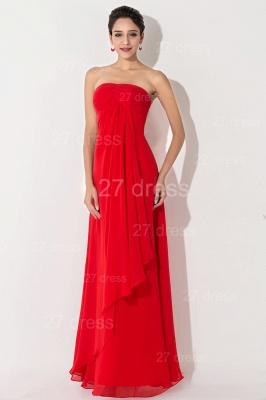 Newest Sweetheart Sleeveless A-line Evening Dress UK Chiffon A-line_2