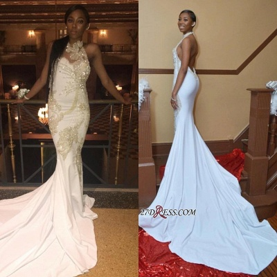 White beadings prom Dress UK, backless evening gowns BK0_3