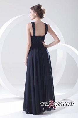 Sleeveless Long Beadings Chiffon Lace Sexy Bridesmaid Dress UK_3